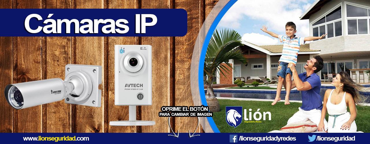 C maras ip en monterrey lion seguridad - Camaras de vigilancia ip ...